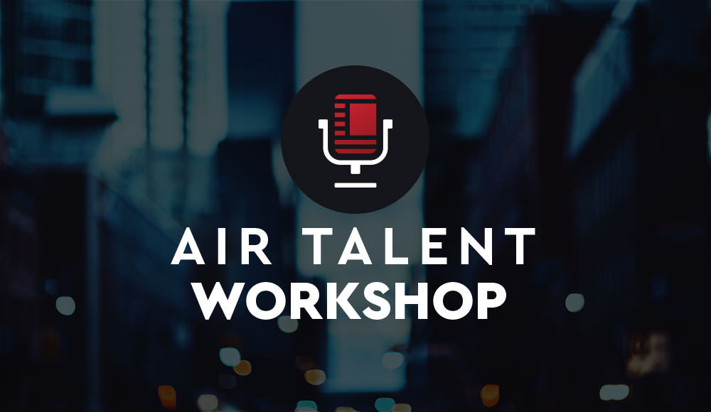 Air Talent Workshop feat. Lisa Williams